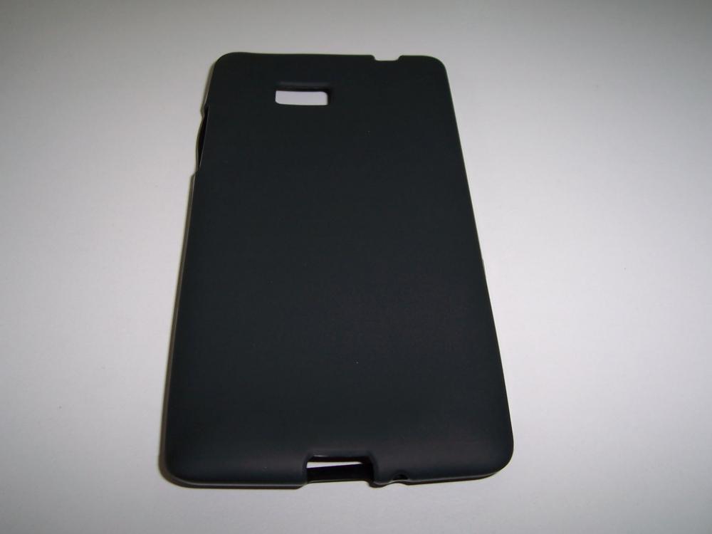 Husa Silicon Neagra Pentru Telefon Htc Desire 600 / Desire 600 Dual Sim