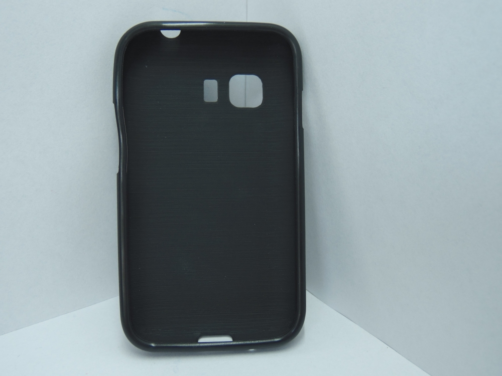 Husa Silicon Neagra Pentru Telefon Samsung Galaxy