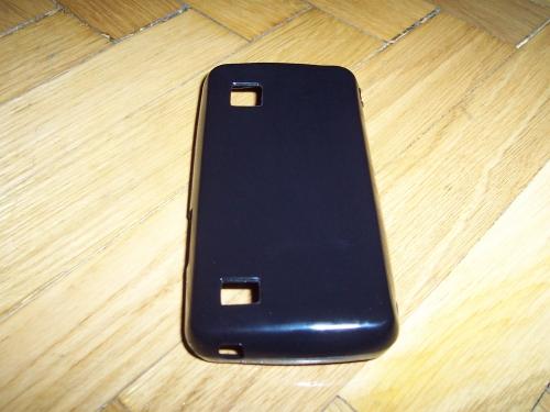 Husa Silicon Neagra Pentru Telefon Samsung Star 2