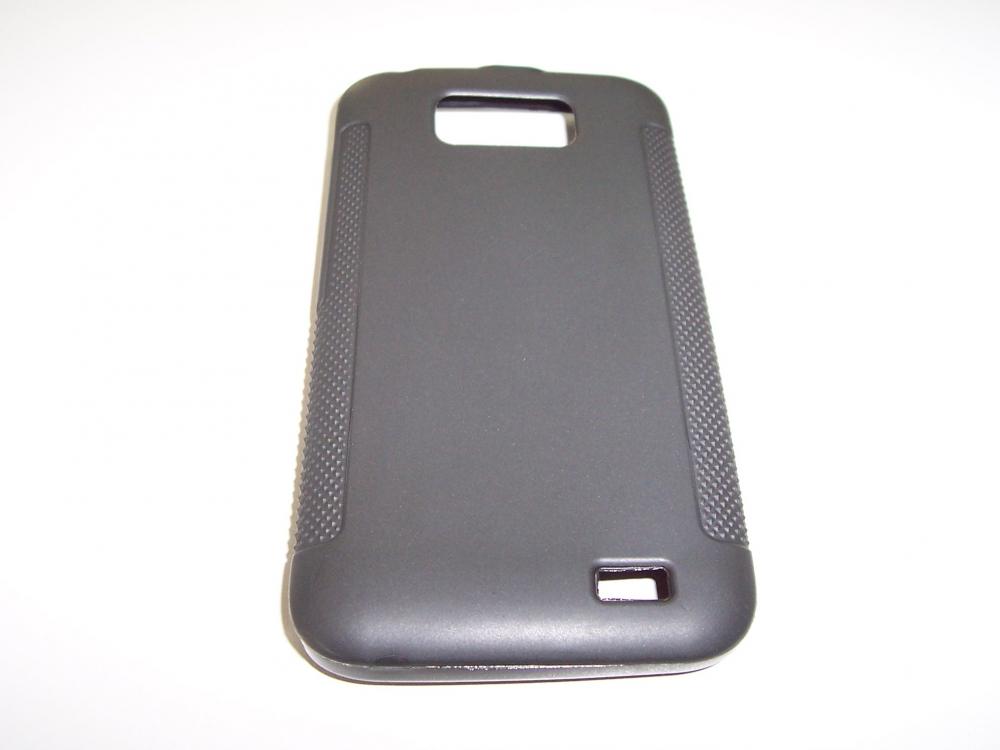 Husa Silicon Premium Neagra Pentru Telefon Allview