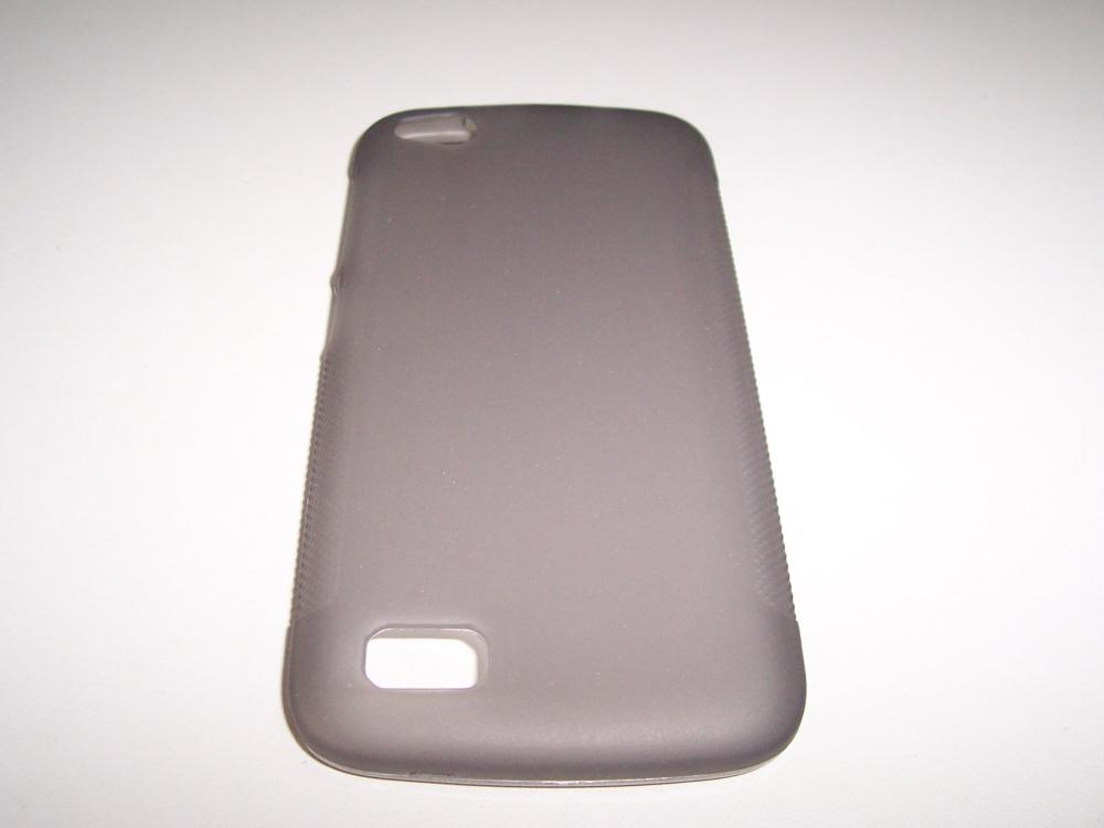 Husa Silicon Premium Negru Deschis Pentru Telefon
