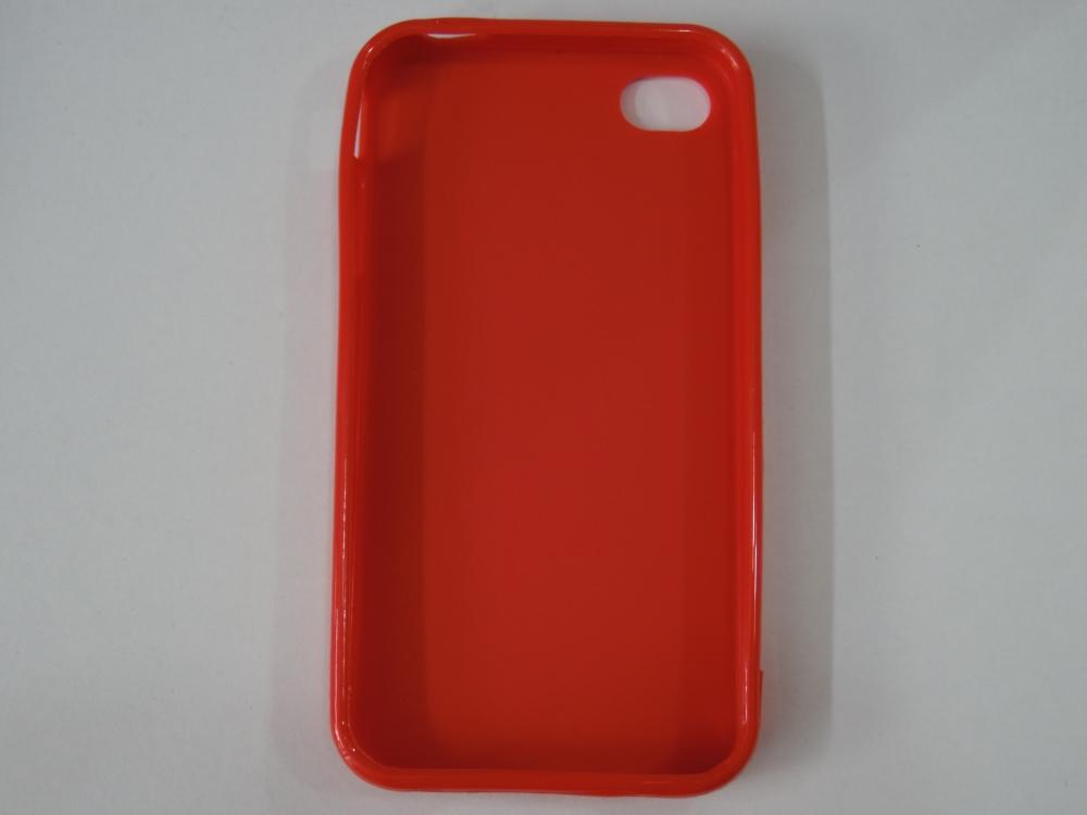 Husa Silicon Rosie Pentru Telefon Apple Iphone 4/4