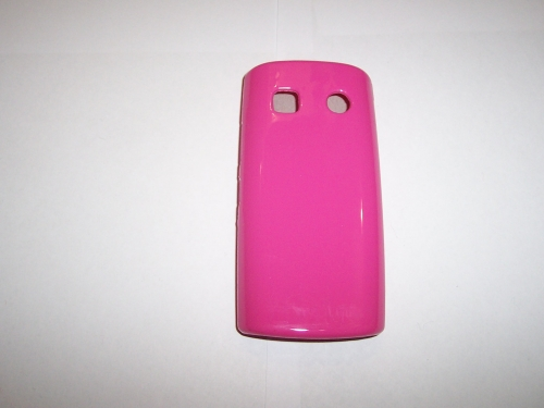 Husa Silicon Roz Pentru Telefon Nokia 500