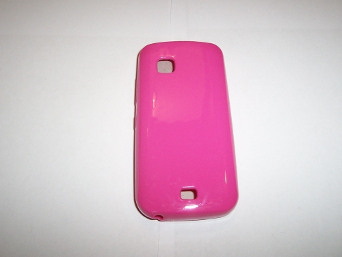 Husa Silicon Roz Pentru Telefon Nokia C5-03