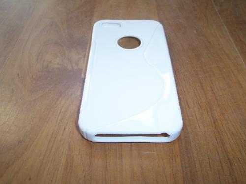 Husa Silicon S-case Alba Pentru Telefon Apple Iphone 5/5s/se