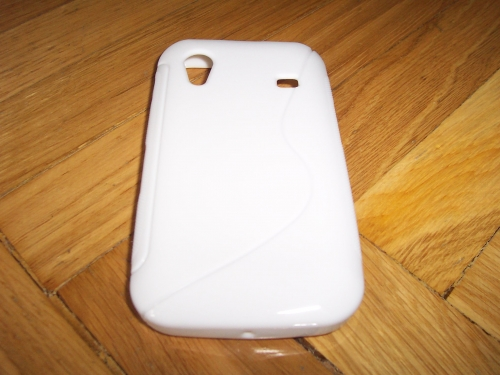Husa Silicon S-case Alba Pentru Telefon Samsung Galaxy Ace S5830
