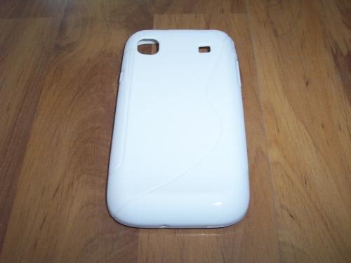Husa Silicon S-case Alba Pentru Telefon Samsung Ga