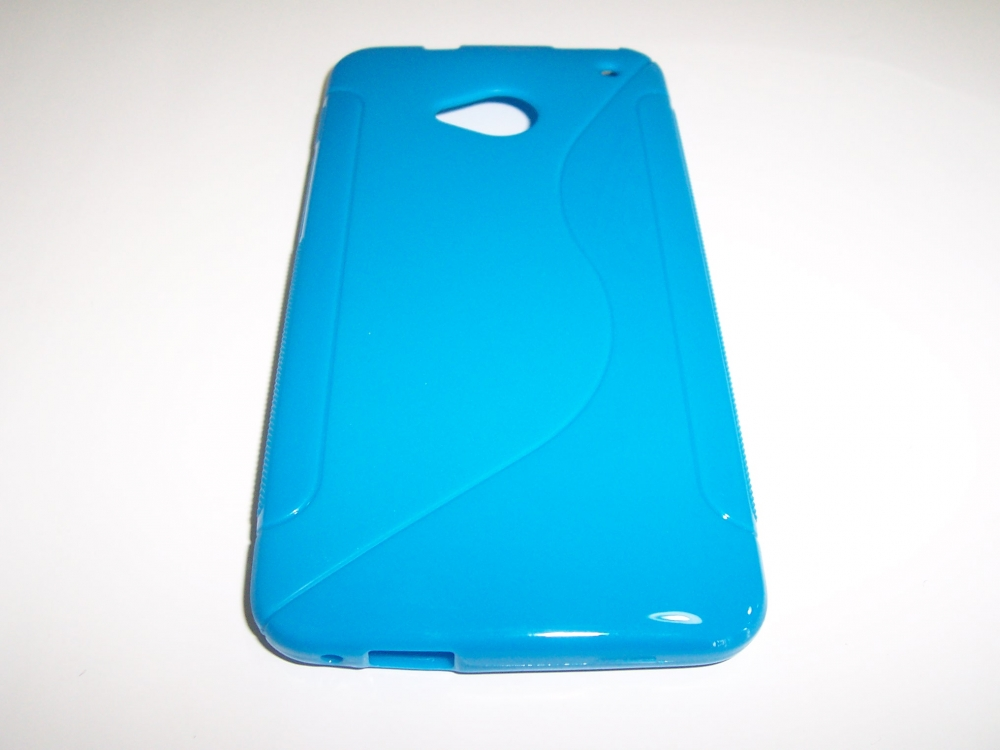 Husa Silicon S-case Bleu Pentru Telefon Htc One (m