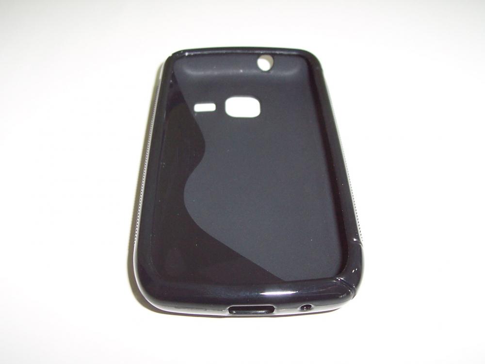 Husa Silicon S-case Neagra Pentru Telefon Samsung