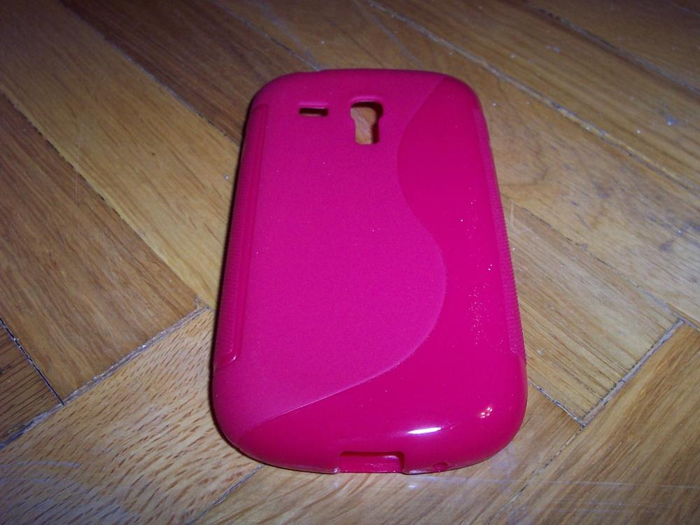 Husa Silicon S-case Rosie Pentru Telefon Samsung G