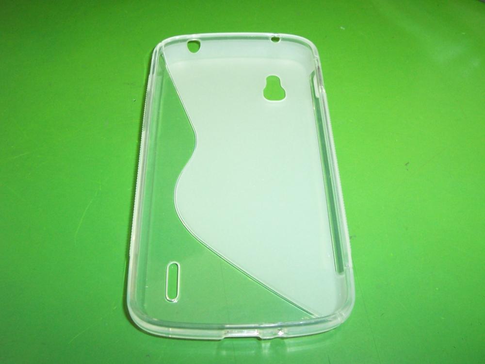 Husa Silicon S-case Transparenta Pentru Telefon Lg