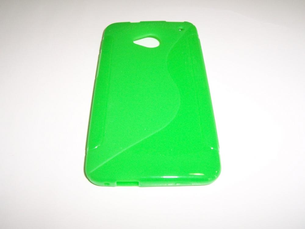Husa Silicon S-case Verde Pentru Telefon Htc One (