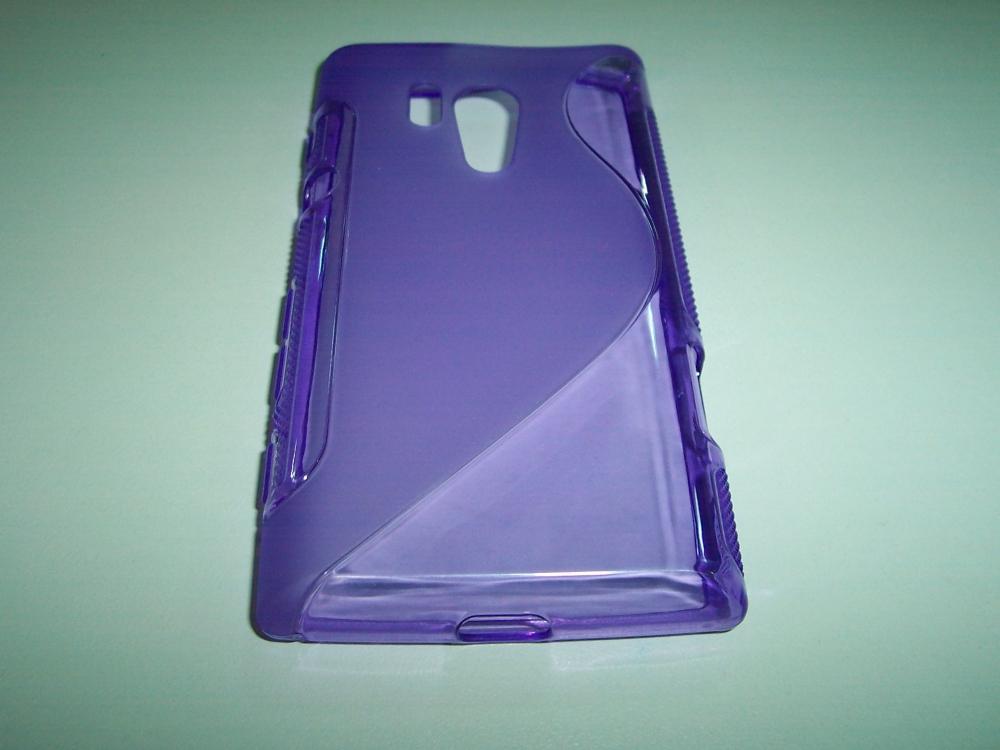 Husa Silicon S-line (epc) Violet Pentru Telefon So