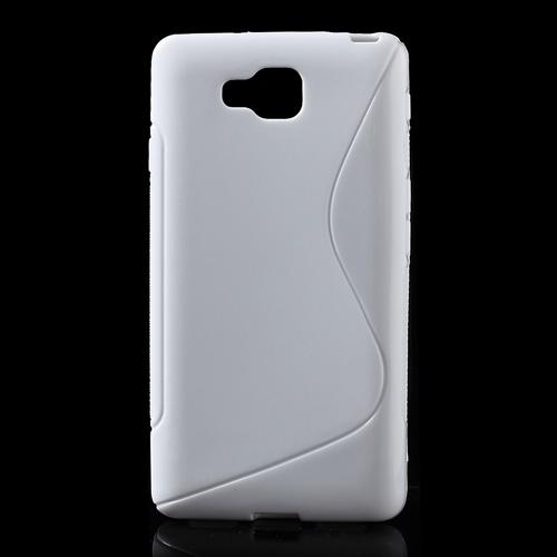 Husa Silicon S-line Alba (epc) Pentru Telefon Lg O