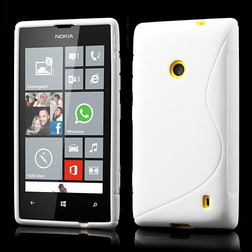 Husa Silicon S-line Alba (epc) Pentru Telefon Noki