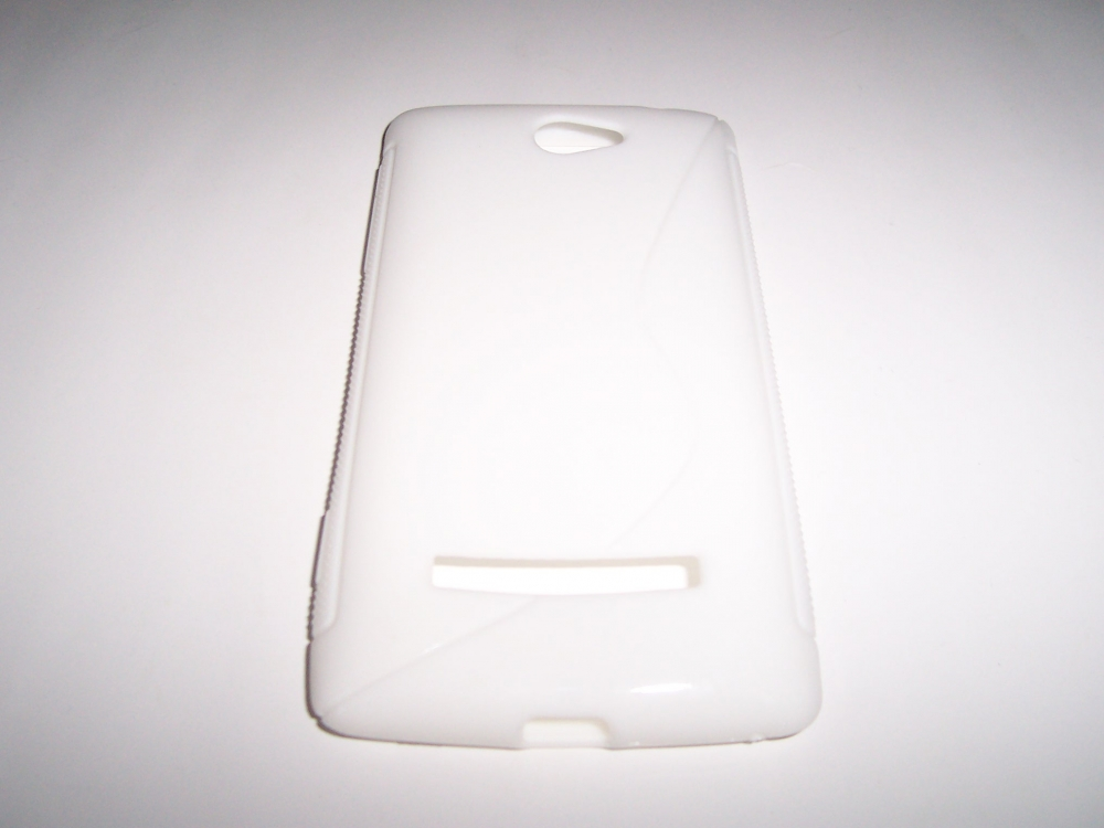Husa Silicon S-line Alba Pentru Telefon Htc Window