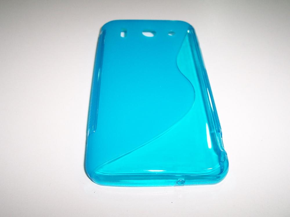Husa Silicon S-line Bleu Pentru Telefon Huawei Asc