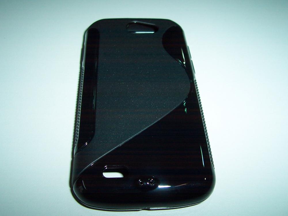 Husa Silicon S-line Neagra (epc) Pentru Telefon Sa