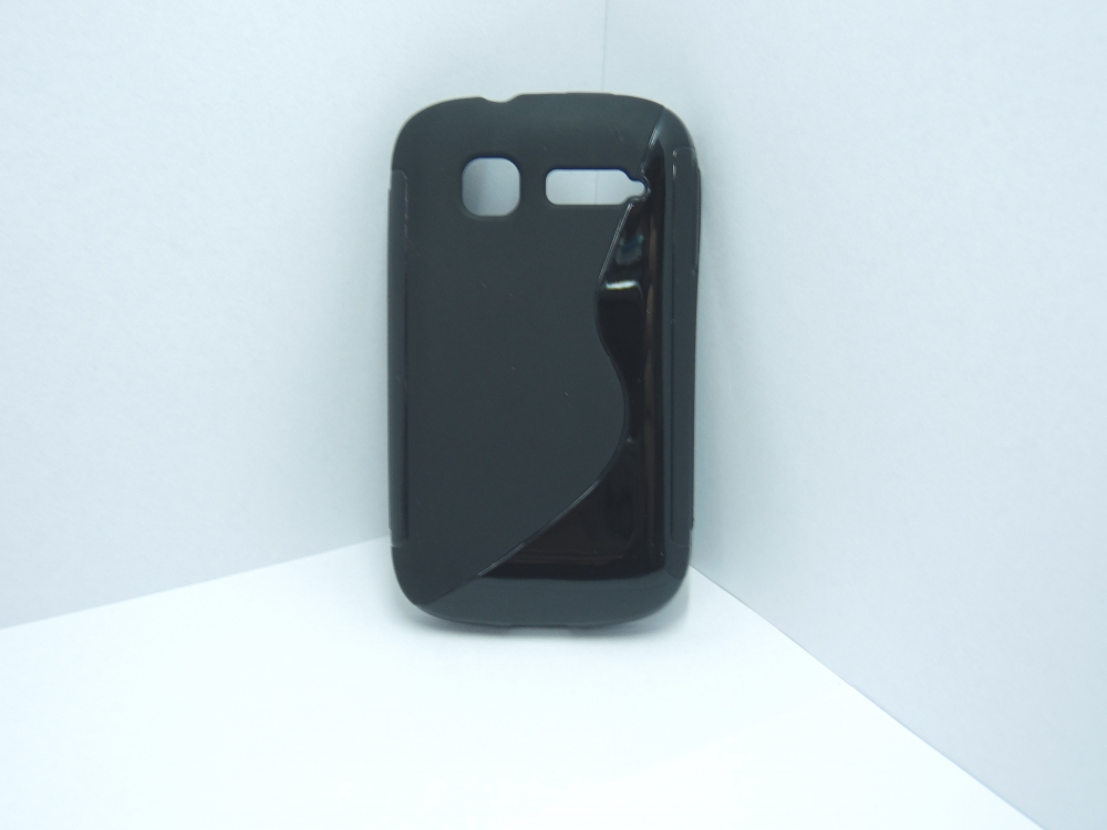 Husa Silicon S-line Neagra Pentru Telefon Alcatel