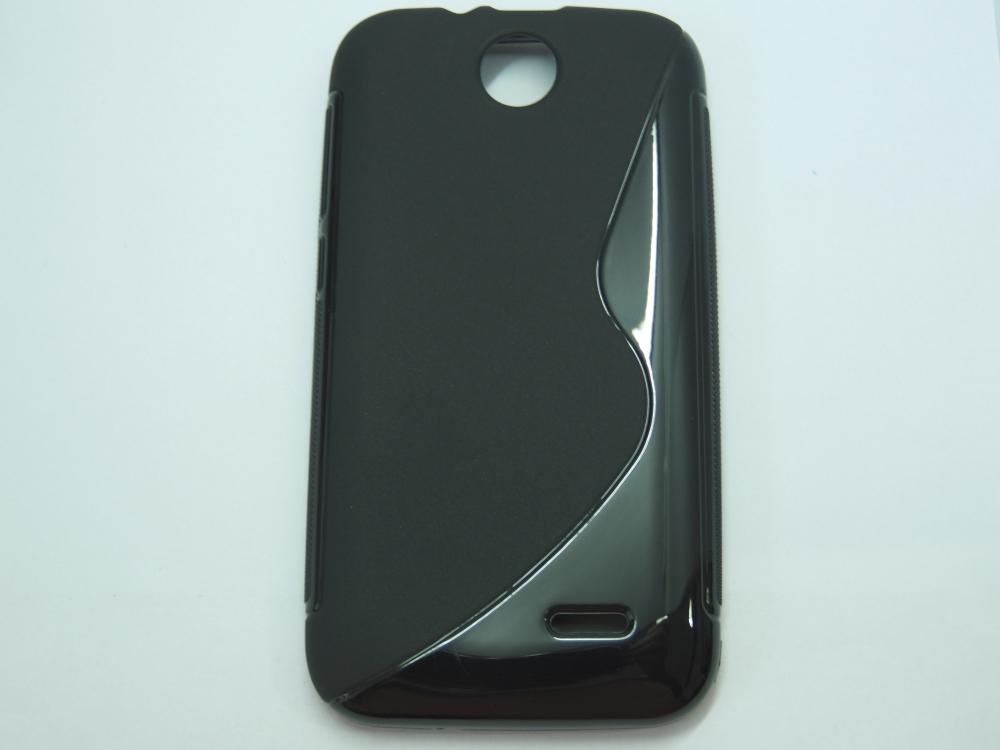 Husa Silicon S-line Neagra Pentru Telefon Htc Desi
