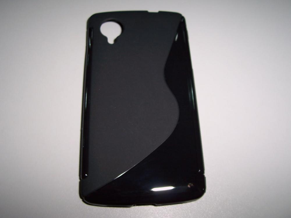 Husa Silicon S-line Neagra Pentru Telefon Lg Nexus