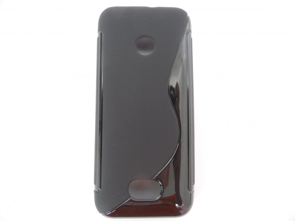 Husa Silicon S-line Neagra Pentru Telefon Nokia 20