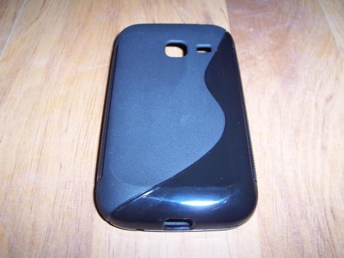 Husa Silicon S-line Neagra Pentru Telefon Samsung