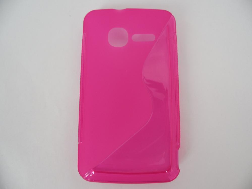 Husa Silicon S-line Roz Pentru Telefon Vodafone Sm