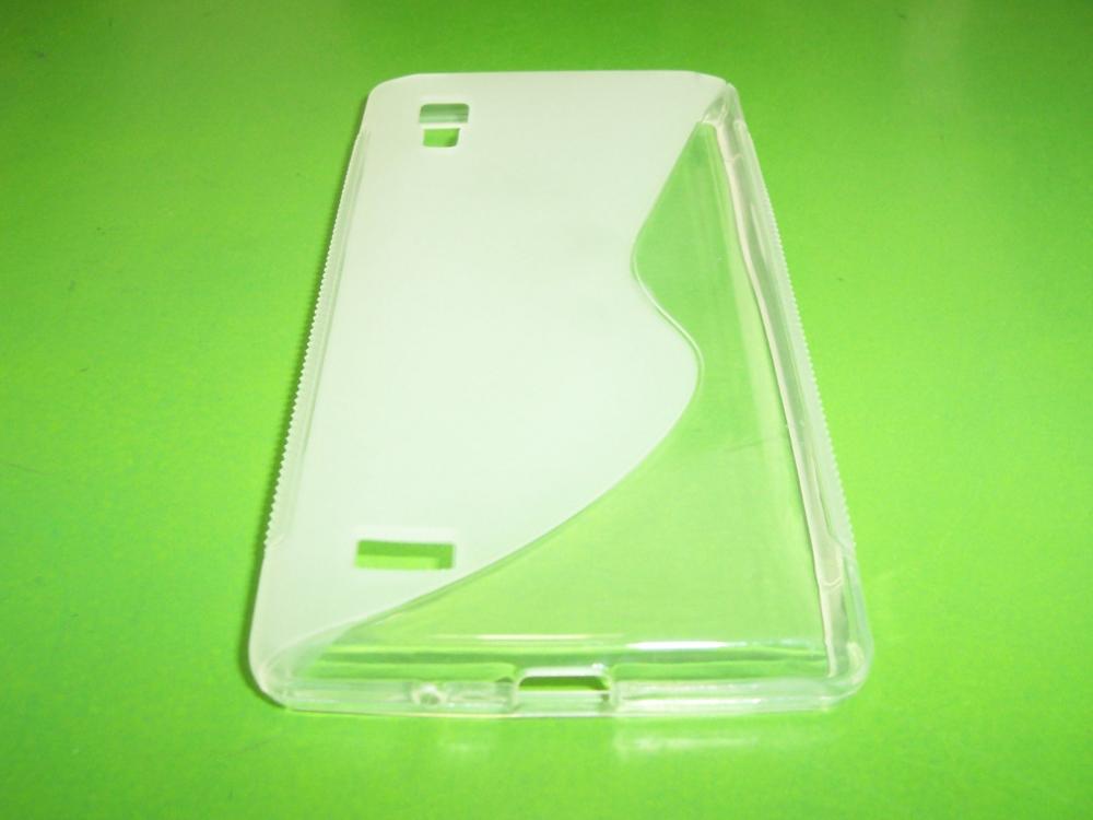 Husa Silicon S-line Transparenta Pentru Telefon Lg