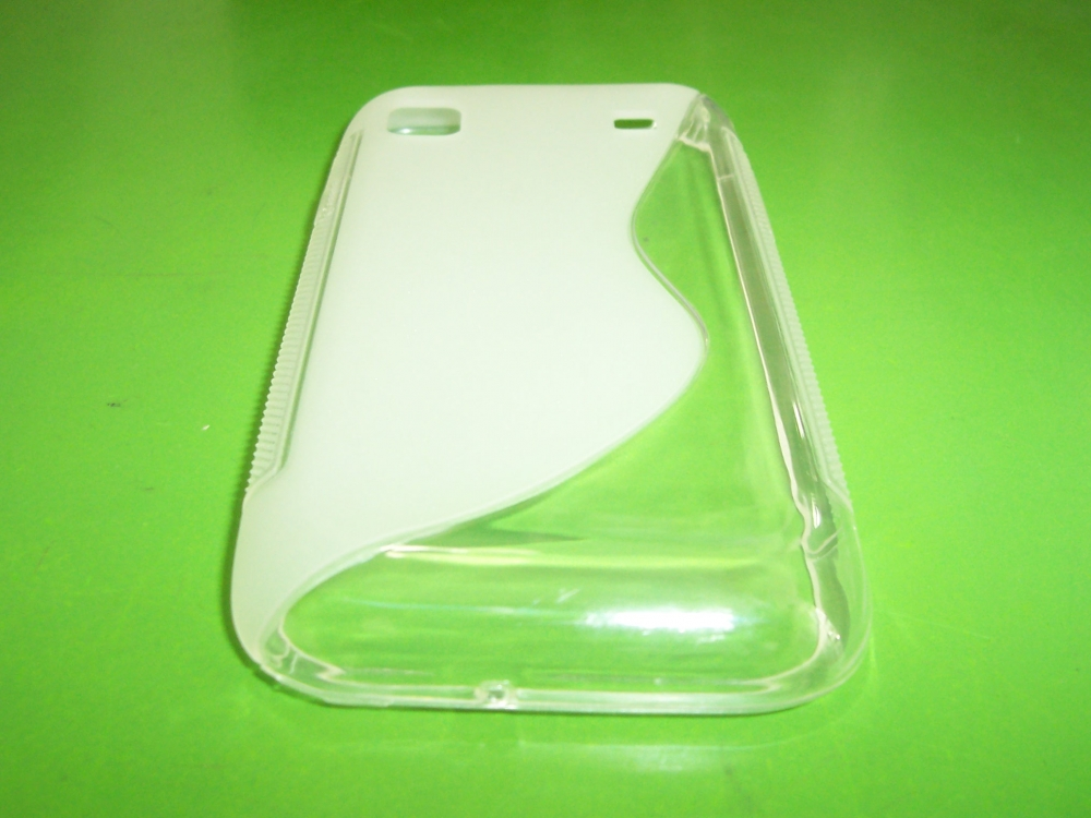 Husa Silicon S-line Transparenta Pentru Telefon Samsung Galaxy S I9000 / Galaxy S Plus I9001