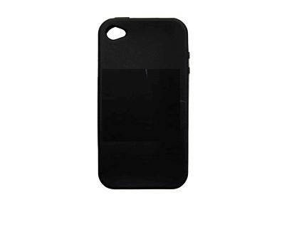 Husa Silicon Sleeve Neagra Pentru Telefon Apple Ip
