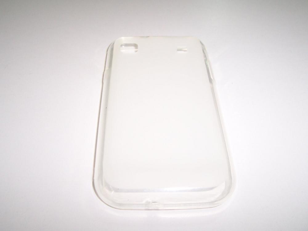 Husa Silicon Transparenta (cu Spate Mat) Pentru Telefon Samsung Galaxy S I9000 / Galaxy S Plus I9001