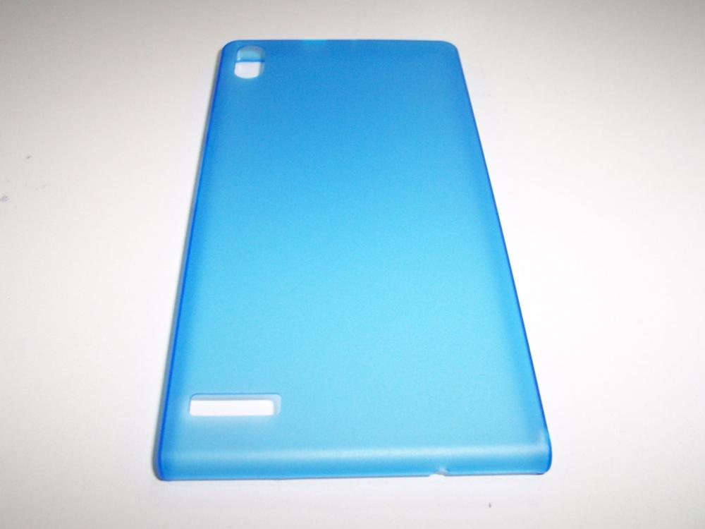 Husa Silicon Ultraslim Albastra Pentru Telefon Hua