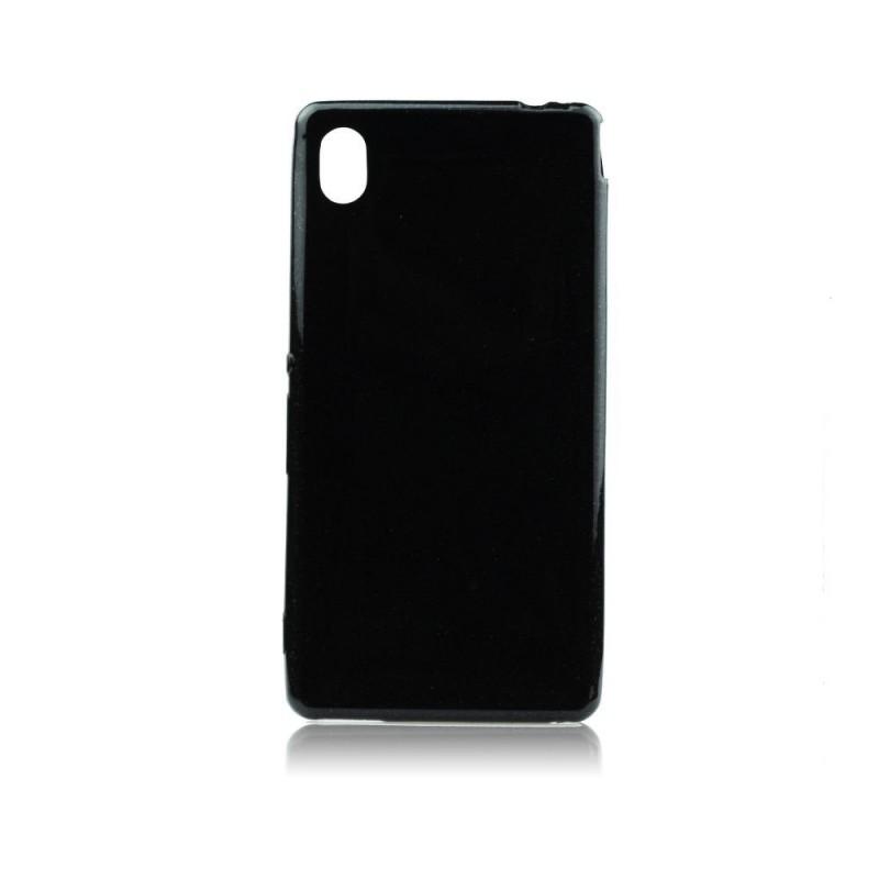Husa Silicon Ultraslim Neagra Pentru Telefon Sony