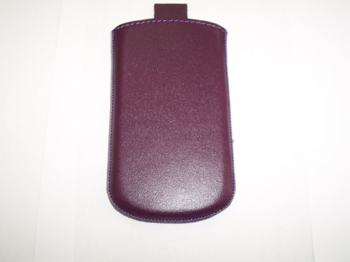 Husa Telone Special Piele Mov (plum) Pentru Telefo