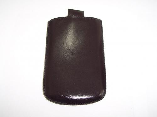 Husa Telone Special Piele Neagra Pentru Telefon Sa