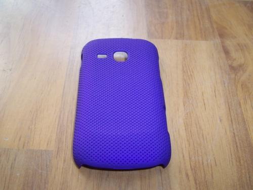 Husa Tip Capac Spate Mov (cu Puncte) Pentru Telefon Samsung Galaxy Mini 2 S6500