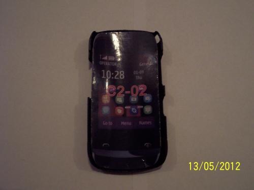 Husa Tip Capac Spate Neagra Pentru Telefon Nokia C