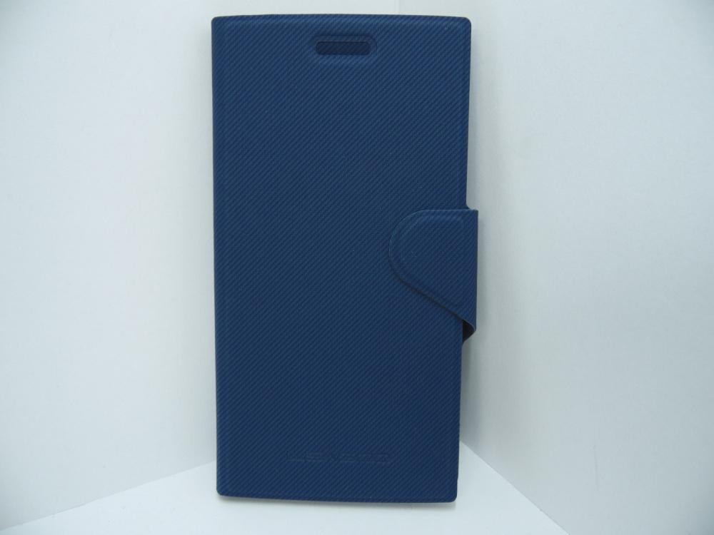 Husa Tip Carte Albastra Pentru Telefonul Leagoo Lead 3