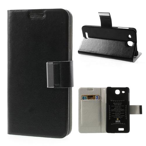 Husa Tip Carte Cu Stand Neagra (mlc) Pentru Telefo