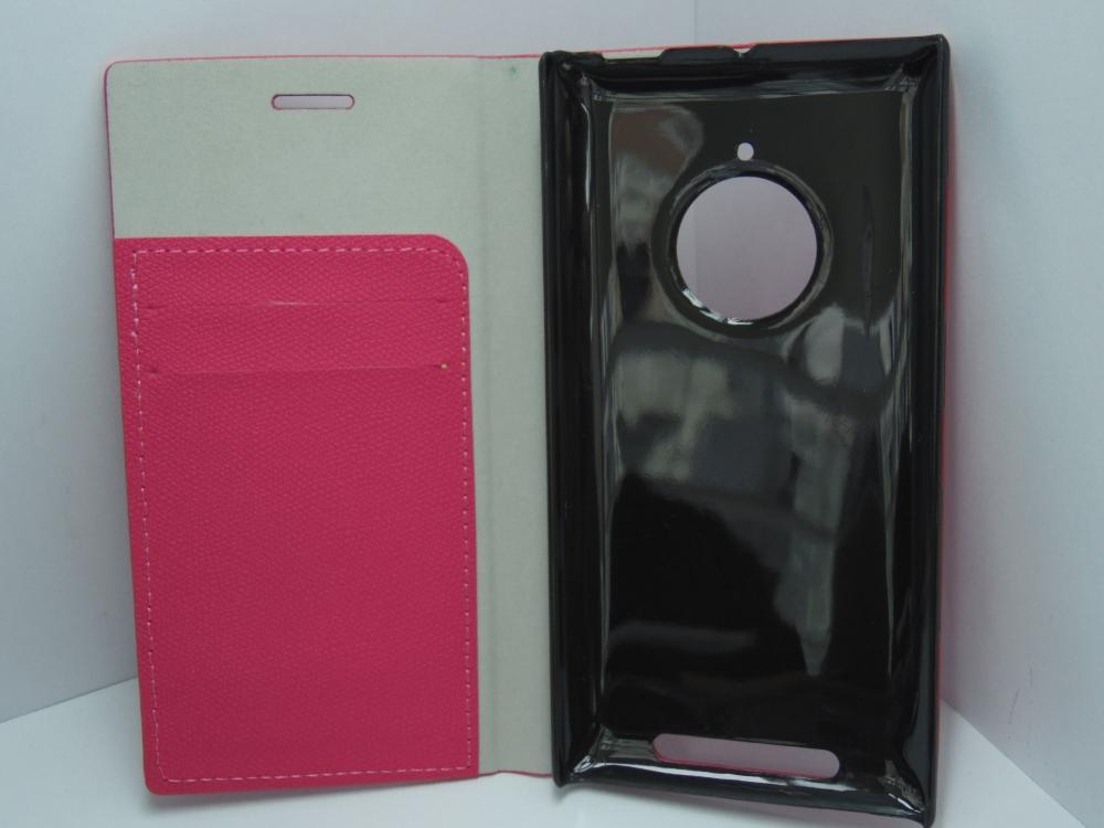 Husa Tip Carte Roz Pentru Telefon Nokia Lumia 830