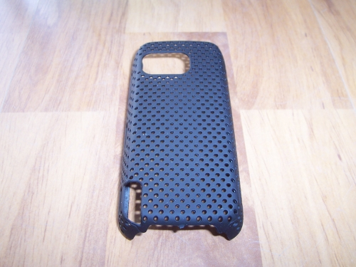 Husa Tip Grila Neagra Pentru Telefon Nokia 5800