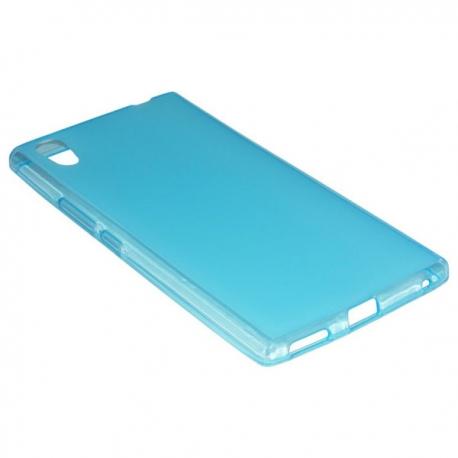 Husa Silicon Albastra (cu Spate Mat) Pentru Telefo