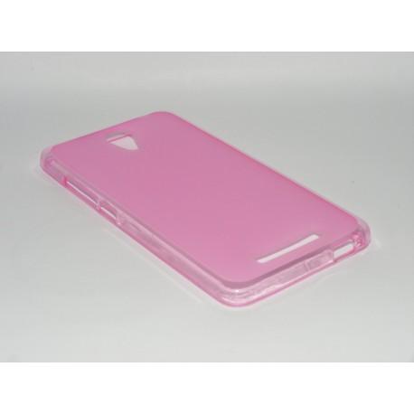 Husa Silicon Roz (cu Spate Mat) Pentru Telefon Xiaomi Redmi Note 2
