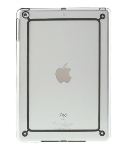 Imagine indisponibila pentru Husa bumper transparent+negru pentru Apple iPad Air