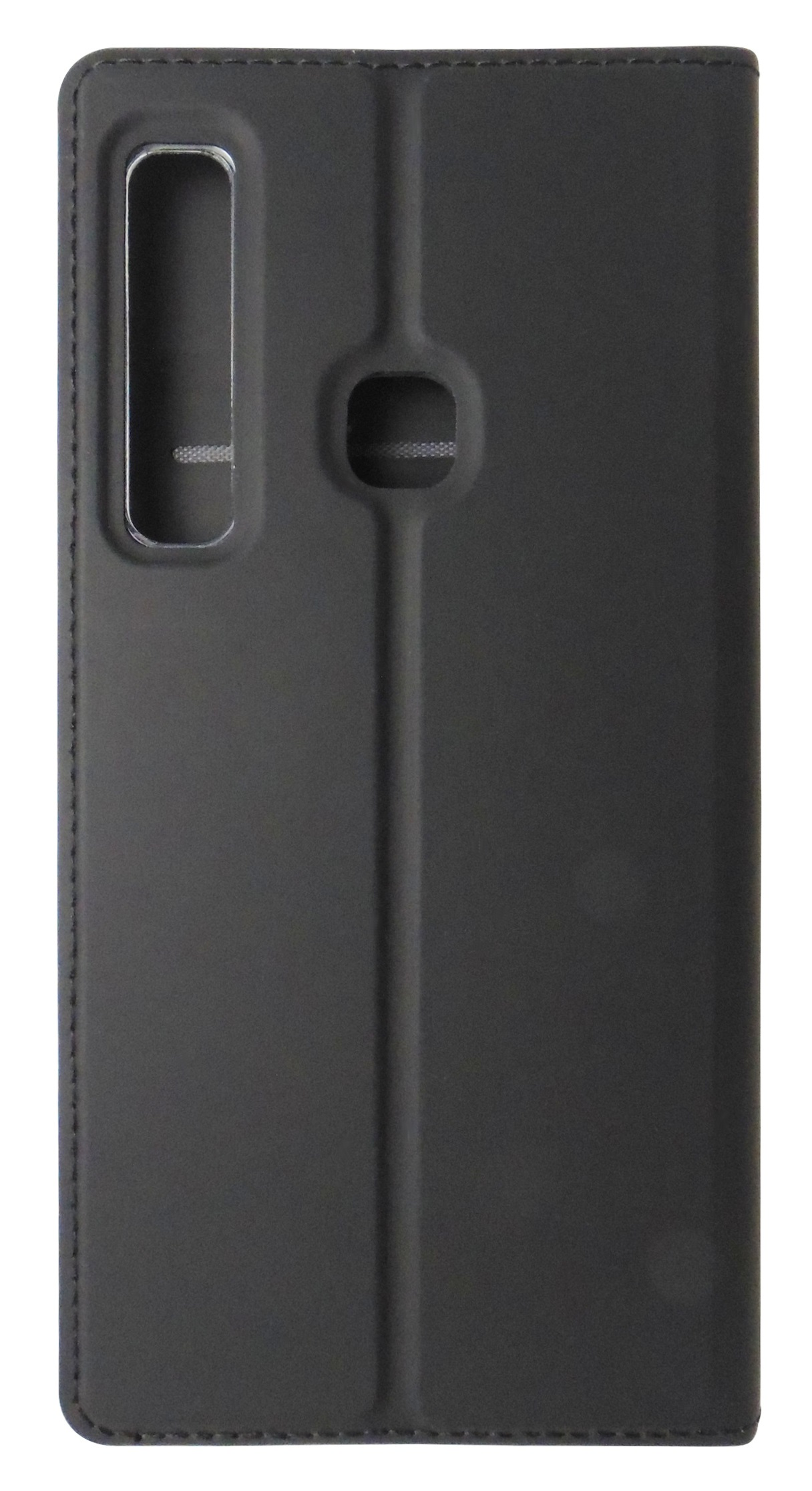 Husa tip carte cu stand Dux Ducis Skin Series neagra pentru Samsung Galaxy A9 (2018)