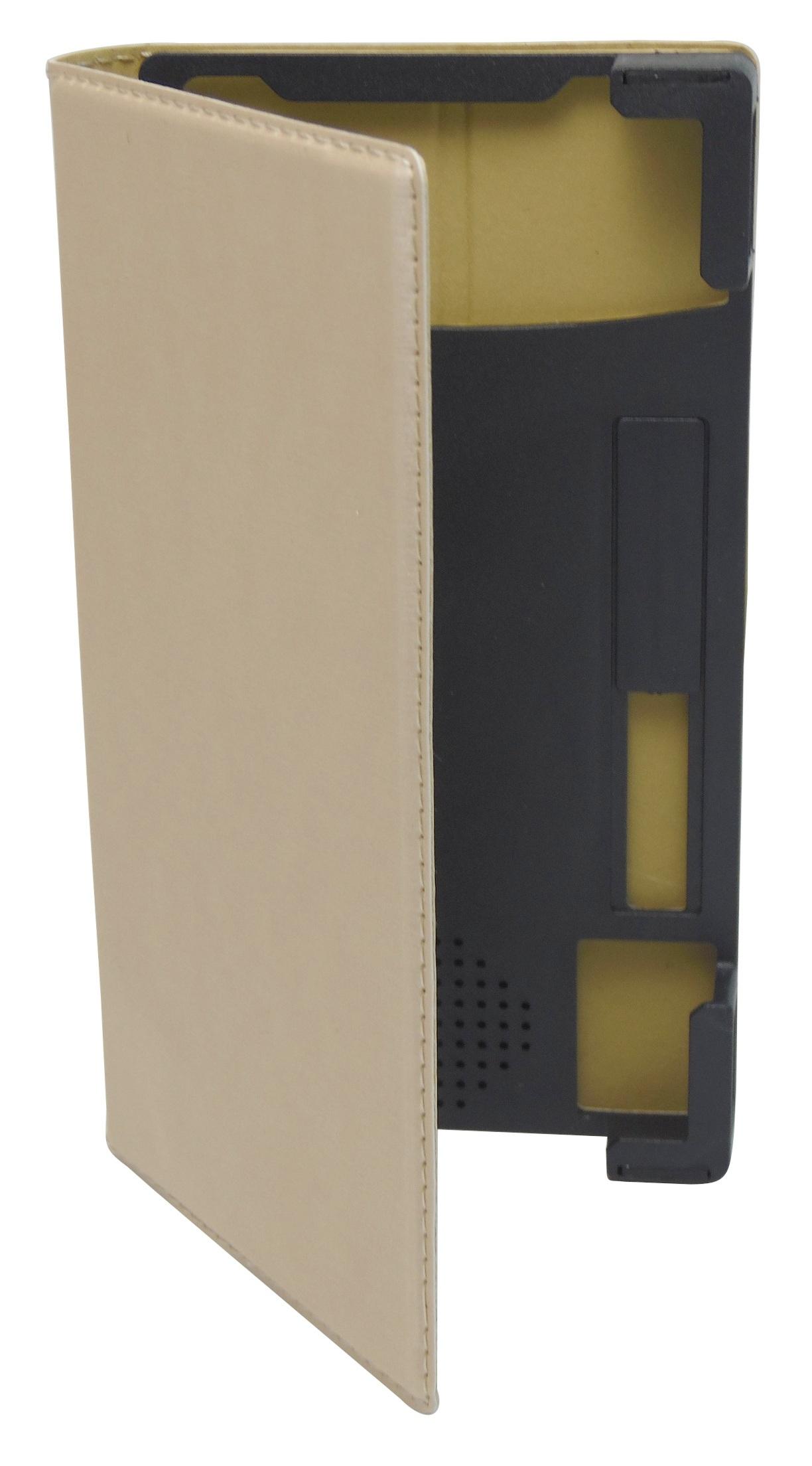Husa universala GreenGo Smart Master aurie (reglabila) cu stand si rama mobila pentru telefoane cu diagonala de 4,7 - 5,1 inch