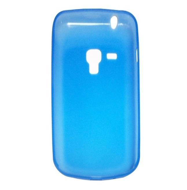 Husa plastic ultraslim albastru deschis pentru Samsung Galaxy Trend S7560 / Galaxy S Duos S7562 / Galaxy Trend Plus S7580 / Galaxy S Duos 2 S7582