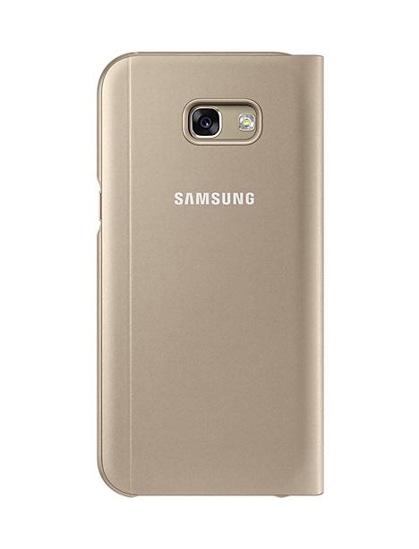 Husa tip carte cu stand S-View Samsung EF-CA520PFEGWW aurie pentru Samsung Galaxy A5 (SM-A520) 201