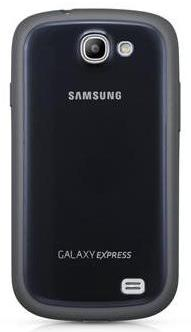 Husa Samsung Ef-p1873bl Silicon Negru Pentru Telefon Samsung Galaxy Express I8730